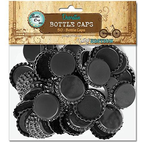 Vintage Collection Standard Bottle Caps 1 50//Pkg-Black Notions In Network 486411