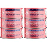 Safe Catch Elite, Wild Pink Salmon, Mercury Tested, 5 oz Can (Pack of 6)