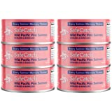 Safe Catch Canned Wild Pink Salmon Skinless and Boneless, Every Salmon Is Mercury Tested, Kosher, 5oz Can, Pack of 6