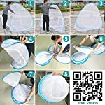 Iblay Mosquito NET for Double Bed Poly Cotton – Machardani Net for Baby | Bedroom | Family | Queen, King Size Bed…