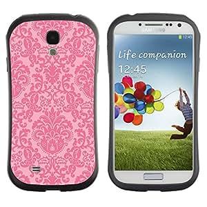 Suave TPU GEL Carcasa Funda Silicona Blando Estuche Caso de protección (para) Samsung Galaxy S4 I9500 / CECELL Phone case / / vintage retro rustic pink wallpaper /