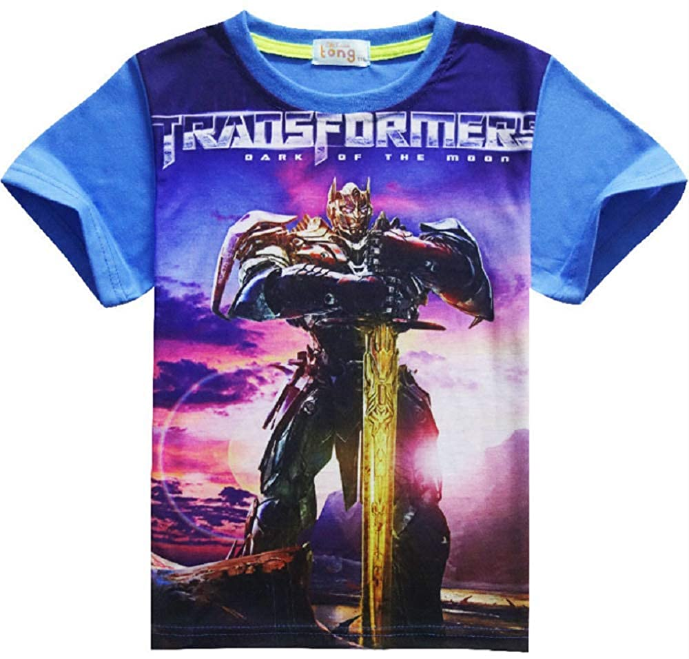 Indepence Life Boys Big Transformers Short Sleeve T-Shirt