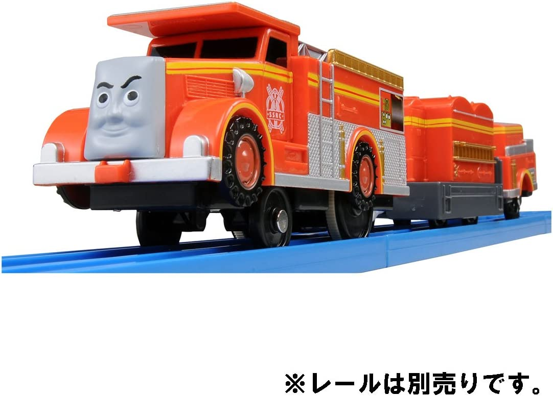 Takara Tomy TS-19 PlaRail Pla-rail Thomas /& Friends Flynn of Fire Engine Japan