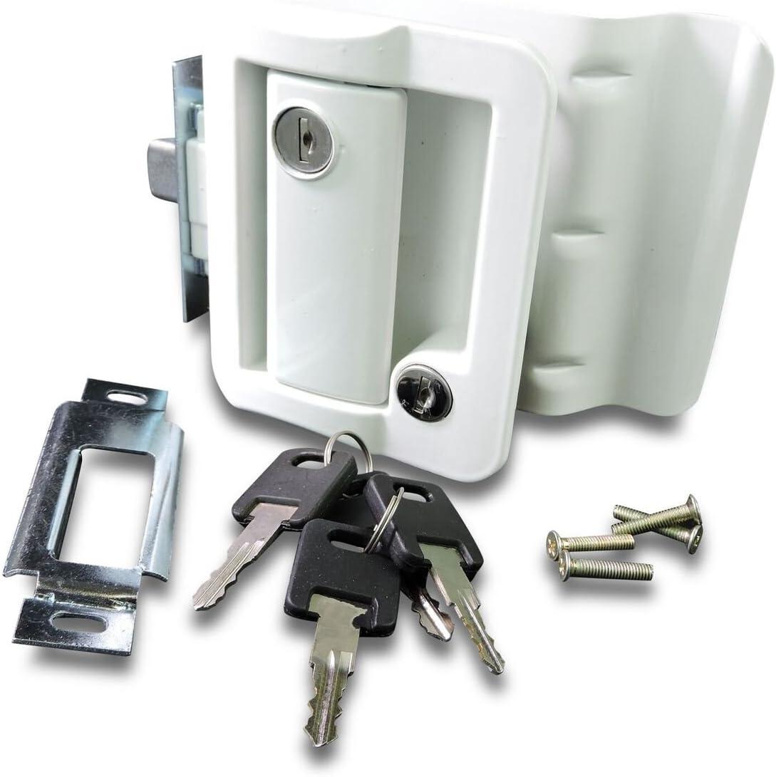 Leisure Locks RV Entry Door Lock
