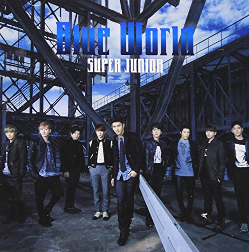 CD : Super Junior - Blue World (Hong Kong - Import)