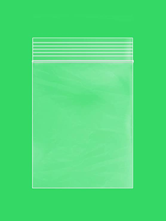 Mini Small Plastic Bags with Resealable Zip-Lock 3x4 inch 100 pcs Multiple Sizes Available and Multipack - Clear Reclosable Poly Zipper Lock Storage Bag