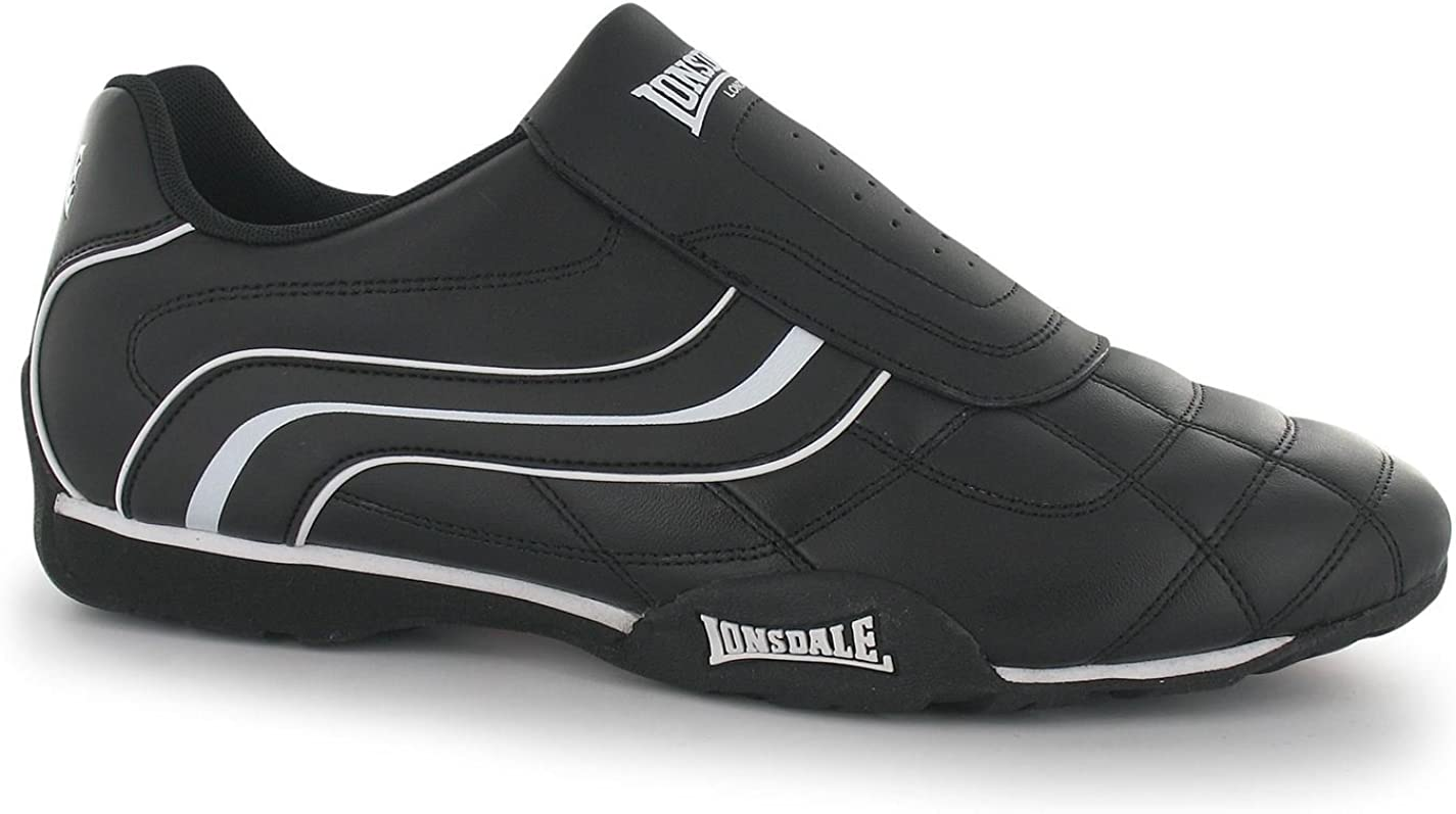 Lonsdale Camden Slip On Trainers Mens