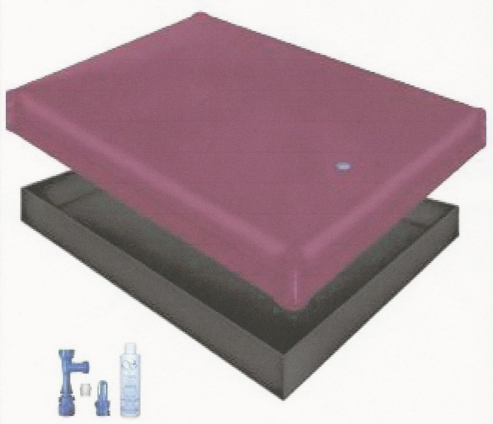 Free Flow WATERBED Mattress/Liner/Fill Drain/Conditioner KIT (California King 72x84 1FFS1) by Innomax