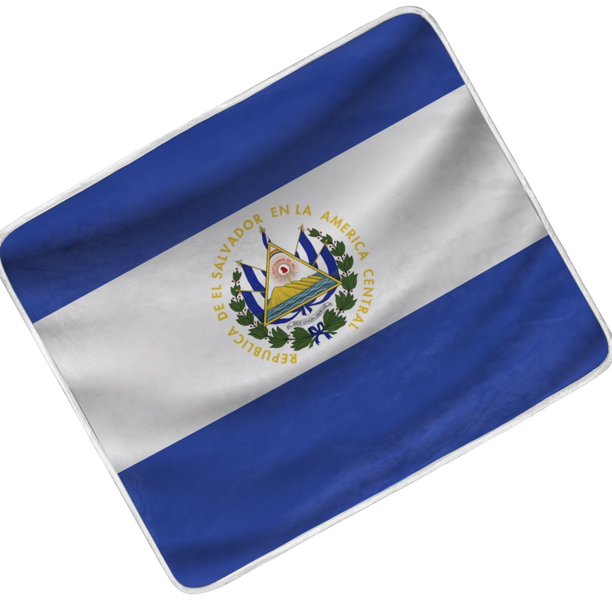 Amazon.com: CoolPrintAll EI Salvador Flag Throw Blanket ...