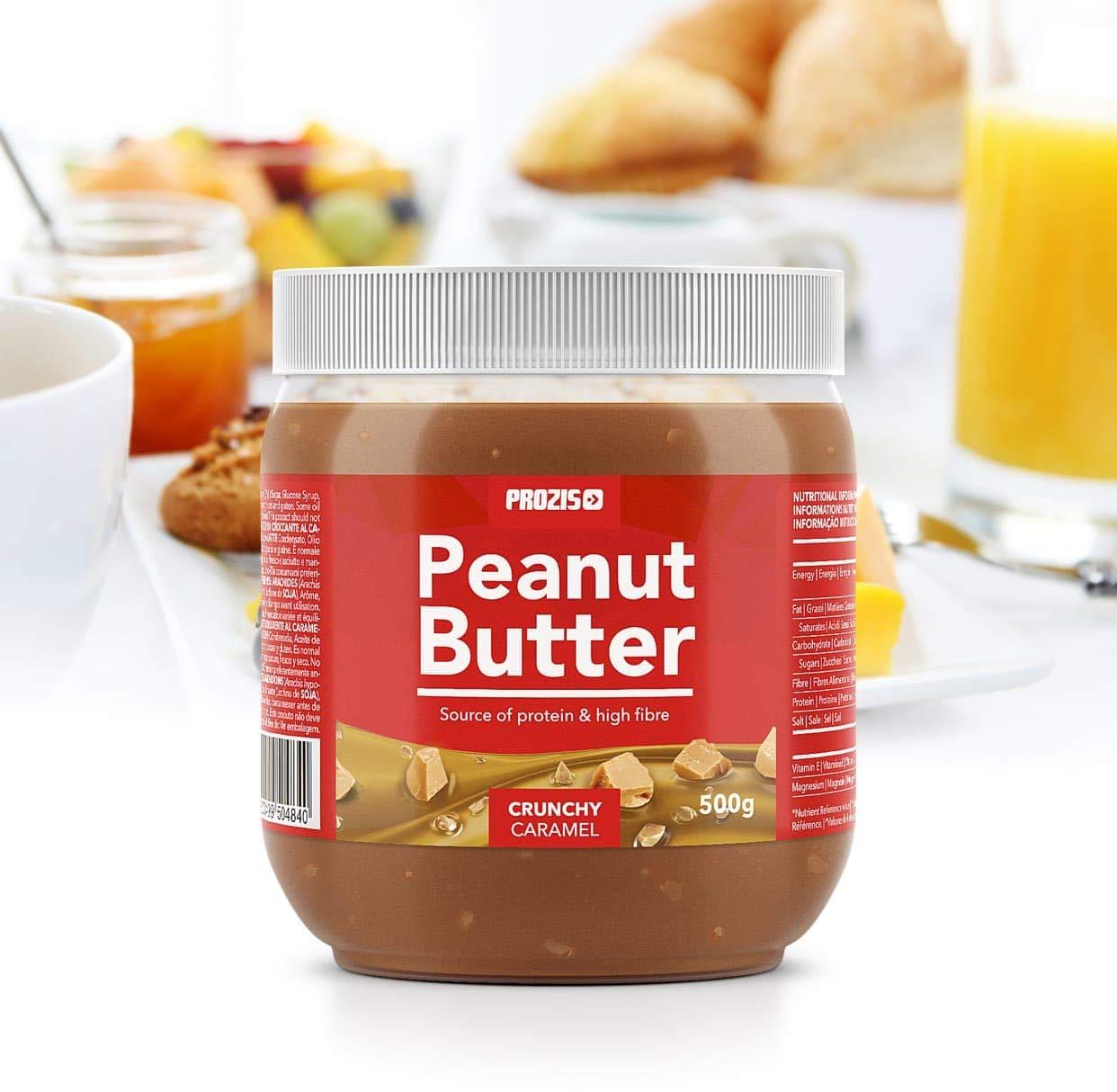 Crunchy Caramel Peanut Butter 500 g: Amazon.es: Alimentación y bebidas