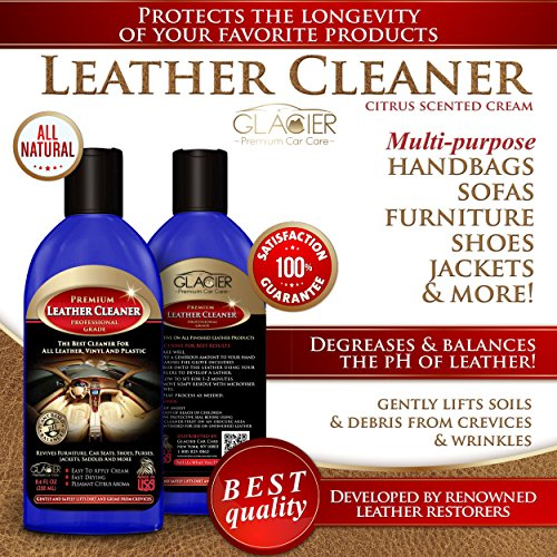 Glacier Leather And Vinyl Cleaner With Conditioner And
