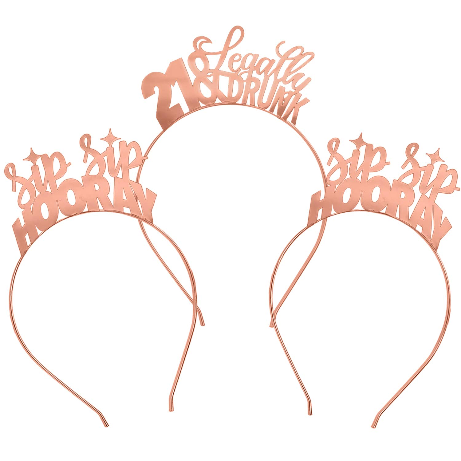 21st Birthday Headband 21 Years Party Tiara 21st Birthday Gifts 21 Birthday Party Accessories Silver//Glitter Pink