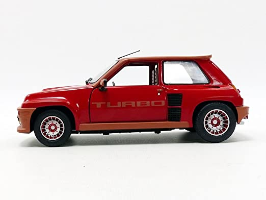 Amazon.com: Solido Renault 5 Turbo (1981) Diecast Model Car: Toys & Games