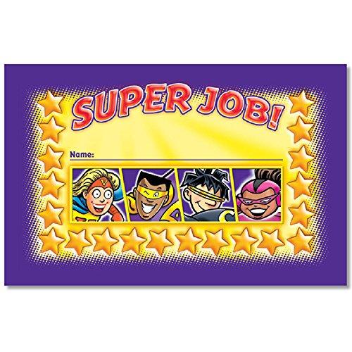 NORTH STAR TEACHER RESOURCE Super Job Incentive Punch Cards ()