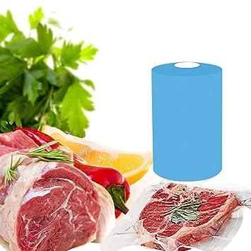 Envasadora al Vacío,Mini Food Saver Selladora al Vacío,Máquina de vacío portátil de batería seca,para Frutas,Verduras y Carne con 8pcs Bolsas de Vacío ...