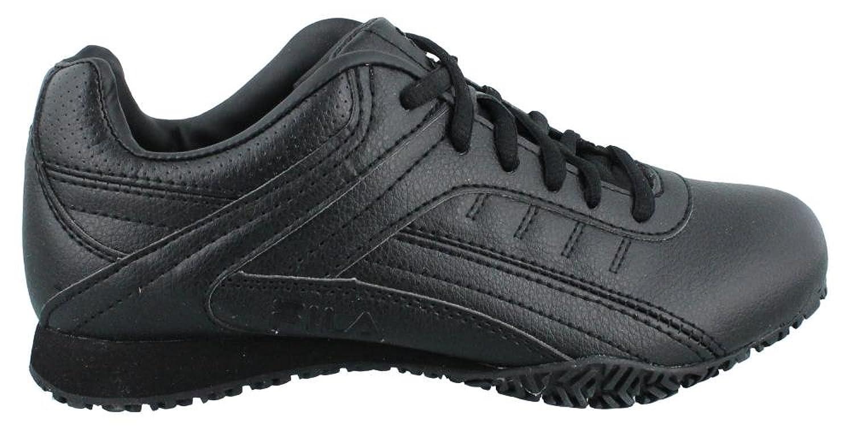 Amazon.com | Fila Women's, Memory Elleray 5 Slip Resistant Work Sneaker  Wide Width | Walking