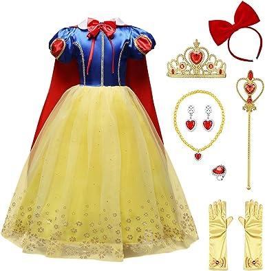 Halloween costume girls kids child size Tinker Bell fancy party dress princess