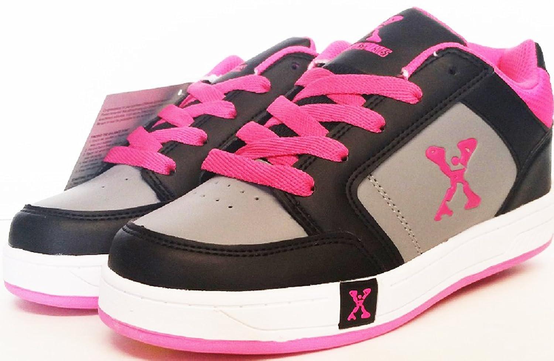 Sidewalk sport lane roller skate shoes - Amazon Com Sidewalk Sports Street Kids Wheeled Skate Shoe Color Black Pink Shoes