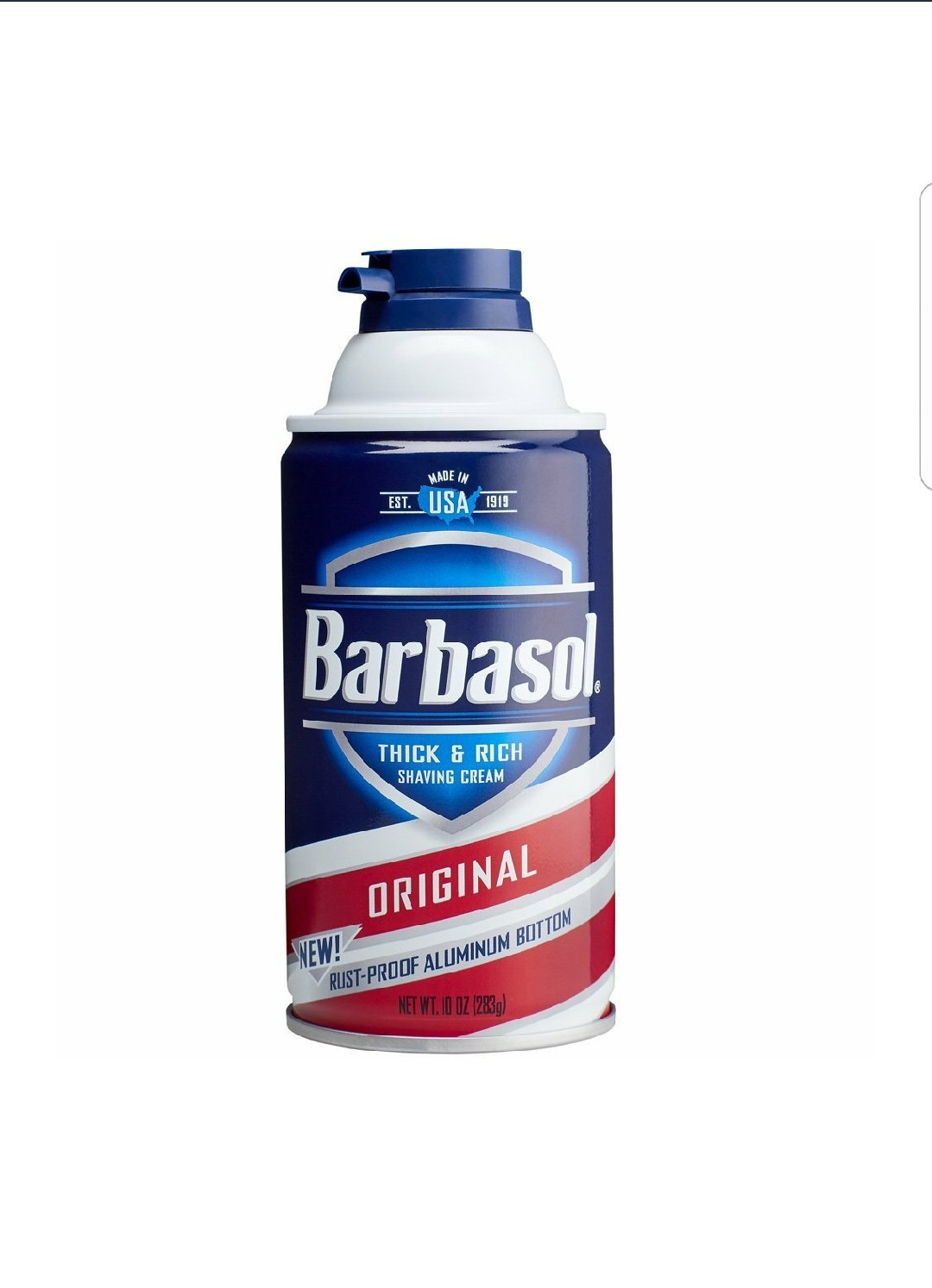 Barbasol Shave Regular Size Cream Image 1