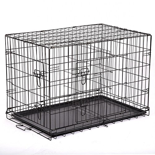 Petdanze extra large dog kennels xxl pet carrier travel for Xl indoor dog kennel