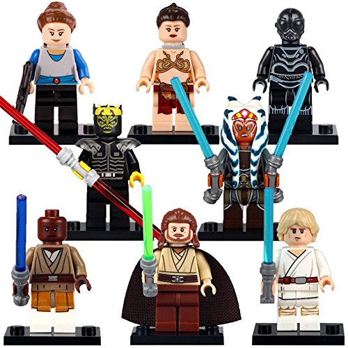 Arwen's Crown Costume (TONGROU 8pcs/set Jedi Knight Minifigures BB8 Boba Fett Clones Fuerza Despierta)