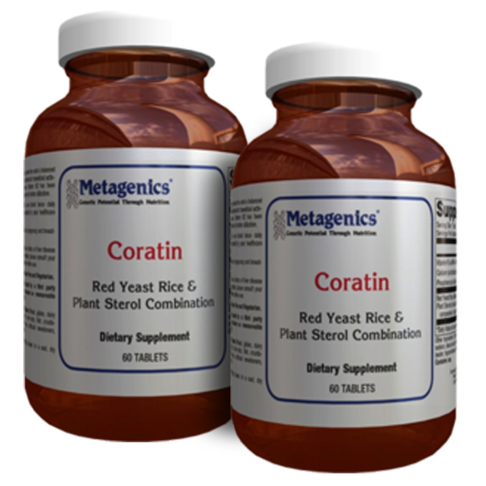 Metagenics Coratin 60 Tablets - TwinPak
