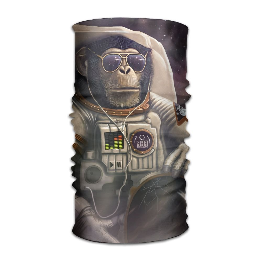 Magic Headwear Monkey Astronaut Outdoor Scarf Headbands Bandana Mask Neck Gaiter Head Wrap Mask Sweatband