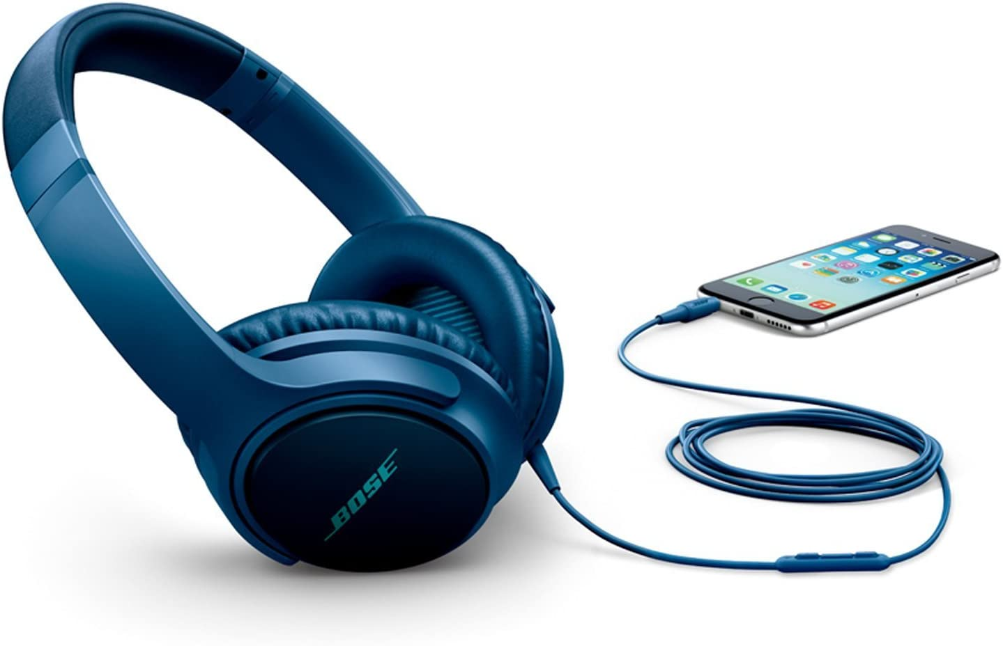 Bose /® SoundTrue around-ear Kopfh/örer II f/ür Apple Ger/äte schwarz