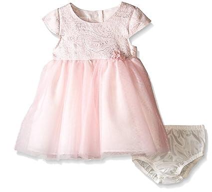 972b79c51 Amazon.com: Bonnie Baby Baby Girls' Short Sleeve Ballerina Party ...