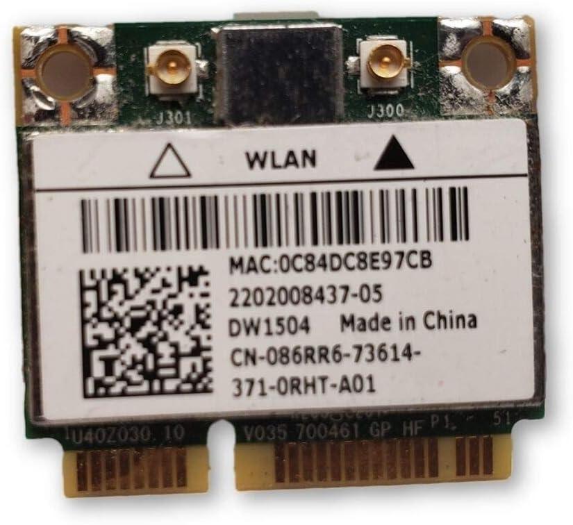 86RR6 - WiFi Card DW1504 802.11b/g/n Internal; Mini Latitude E6320