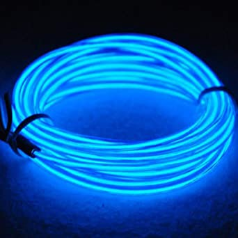 Details about  /EL Wire 16.4ft//5m Tube Rope Battery Powered Flexible Portable Light Neon Tube Il