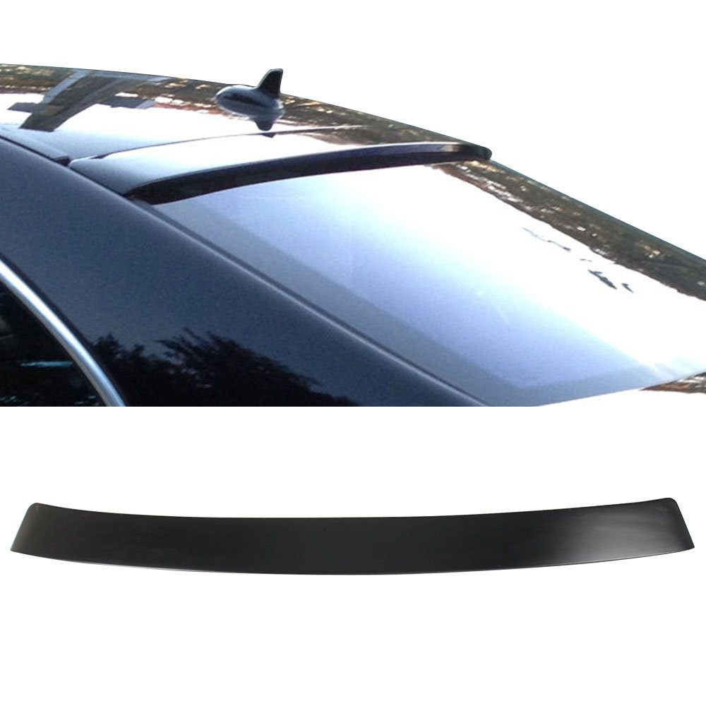 Other Color Available Rear Trunk Tail Spoiler Wing by IKON MOTORSPORTS Roof Spoiler Fits 2007-2013 Mercedes Benz W221 S-Class 2008 2009 2010 2011 2012 ABS Wing