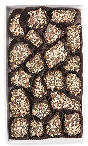 Mrs. Cavanaugh's English Toffee Nut with Almonds | Old Fashioned Milk Chocolate Gift Box Candy | 1 lb