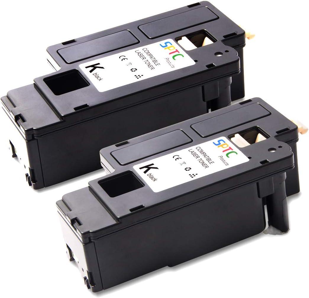 SPTC High Yield Compatible Dell E525W E525 525 Toner Cartridge (Black/Black)