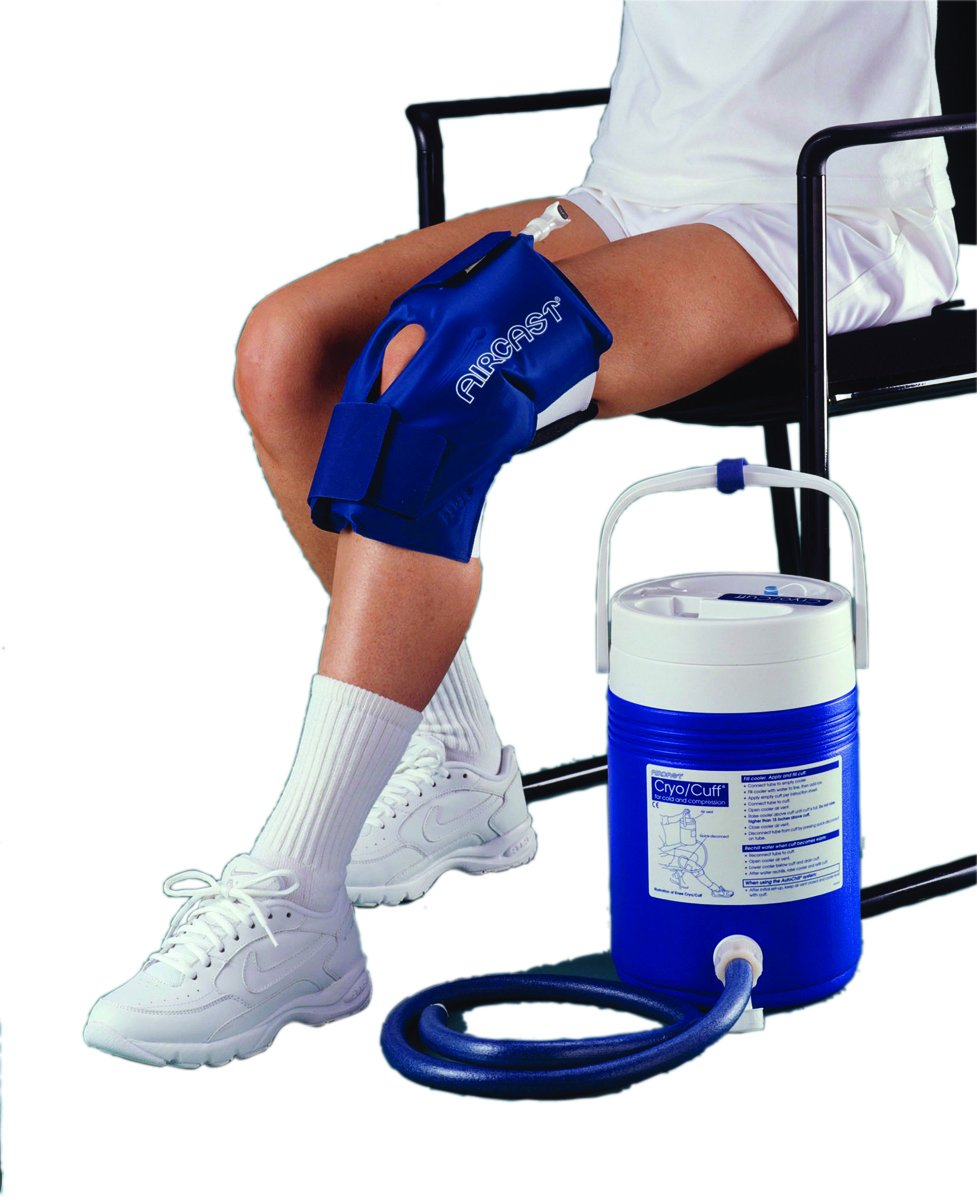 Fabrication Enterprises AirCast CryoCuff - Large Knee with Gravity Feed Cooler