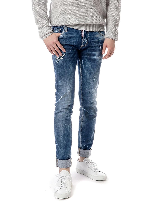 [ディースクエアード Dsquared2] 17FW スリムフィット メンズ Jeans LB0258 S30342 470 flwy1202 [並行輸入品] B077TDXVQ4 52
