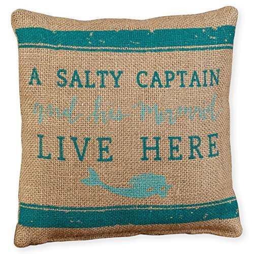 - The Country House Collection Small Burlap Pillow (8