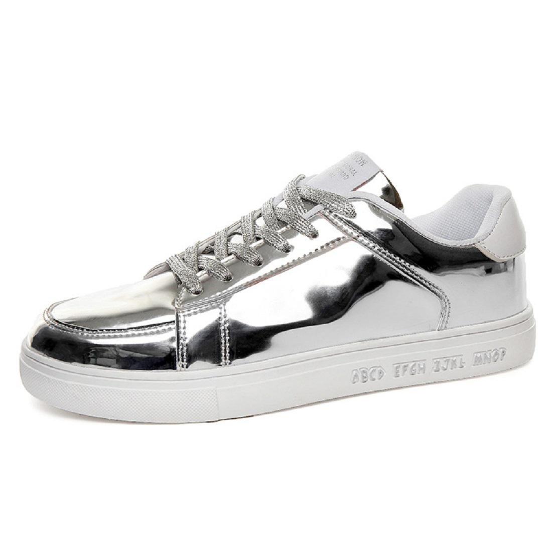 Herren Mode Flache Schuhe Rutschfest Sportschuhe Lazy Schuhe Licht Gemütlich Lässige Schuhe EUR GRÖSSE 39-44 , silver , 39