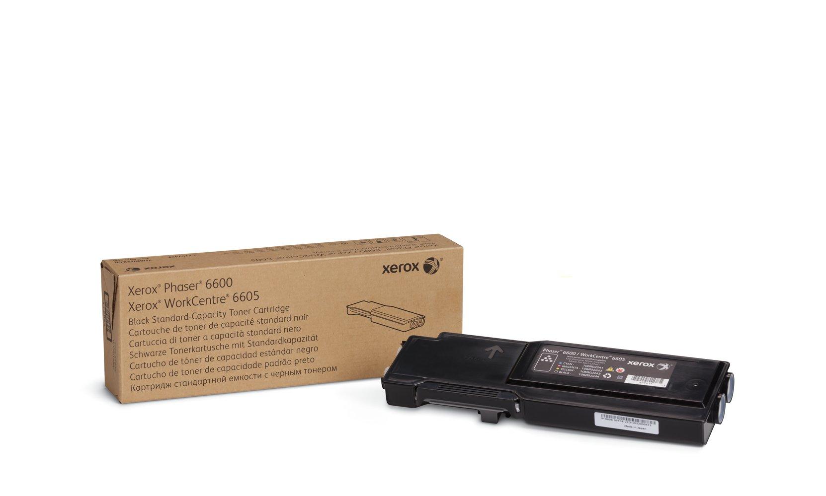 Toner Original XEROX Black para the Phaser 6600 o WorkCentre 6605 106R02244