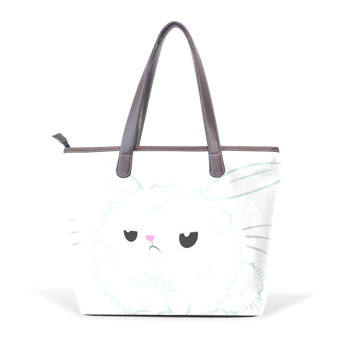 Mr.Weng Household Angel Bunny Lady Handbag Tote Bag Zipper Shoulder Bag