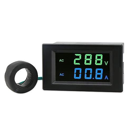 Watt Draw Meter: DC Panel Volt Current Meter: Amazon.com