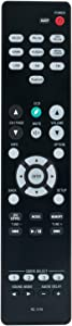 RC-1216 Replacement Remote Control Applicable for Denon AV Surround Receiver AVR-S530BT AVRS530BT AVR-S540BT AVRS540BT AVR-X550BT AVRX550BT