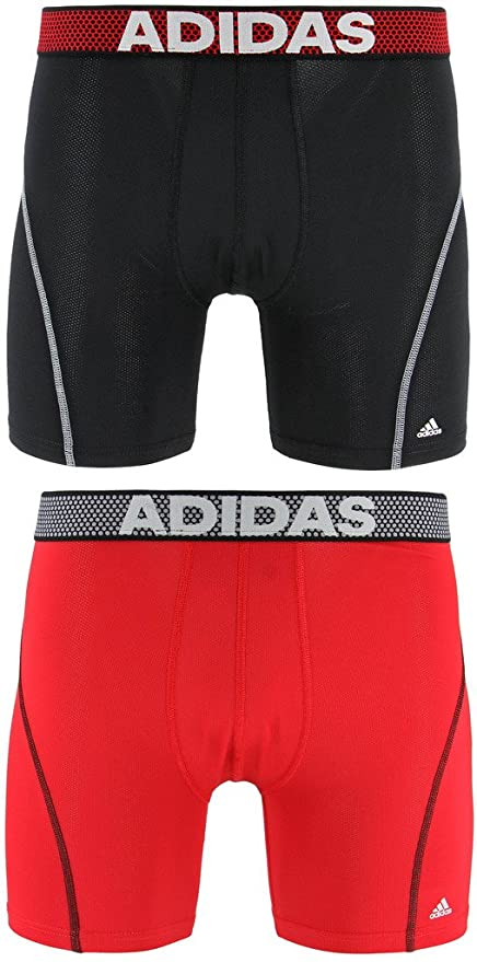 2 Boxer Pack Underwear Adidas Briefs Performance Climacool black Men's Sport Cq0wxgBHT