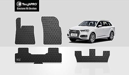 Amazoncom ToughPRO Audi Q Floor Mats Set Plus Rd Row Mat All - Audi 3rd row
