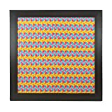 MFM TOYS XOXOMags Colourful Geometrical Pattern Magnetic Wall Frame Wall Hanging Magnetic Board to display Travel Magnets/Photo Magnets