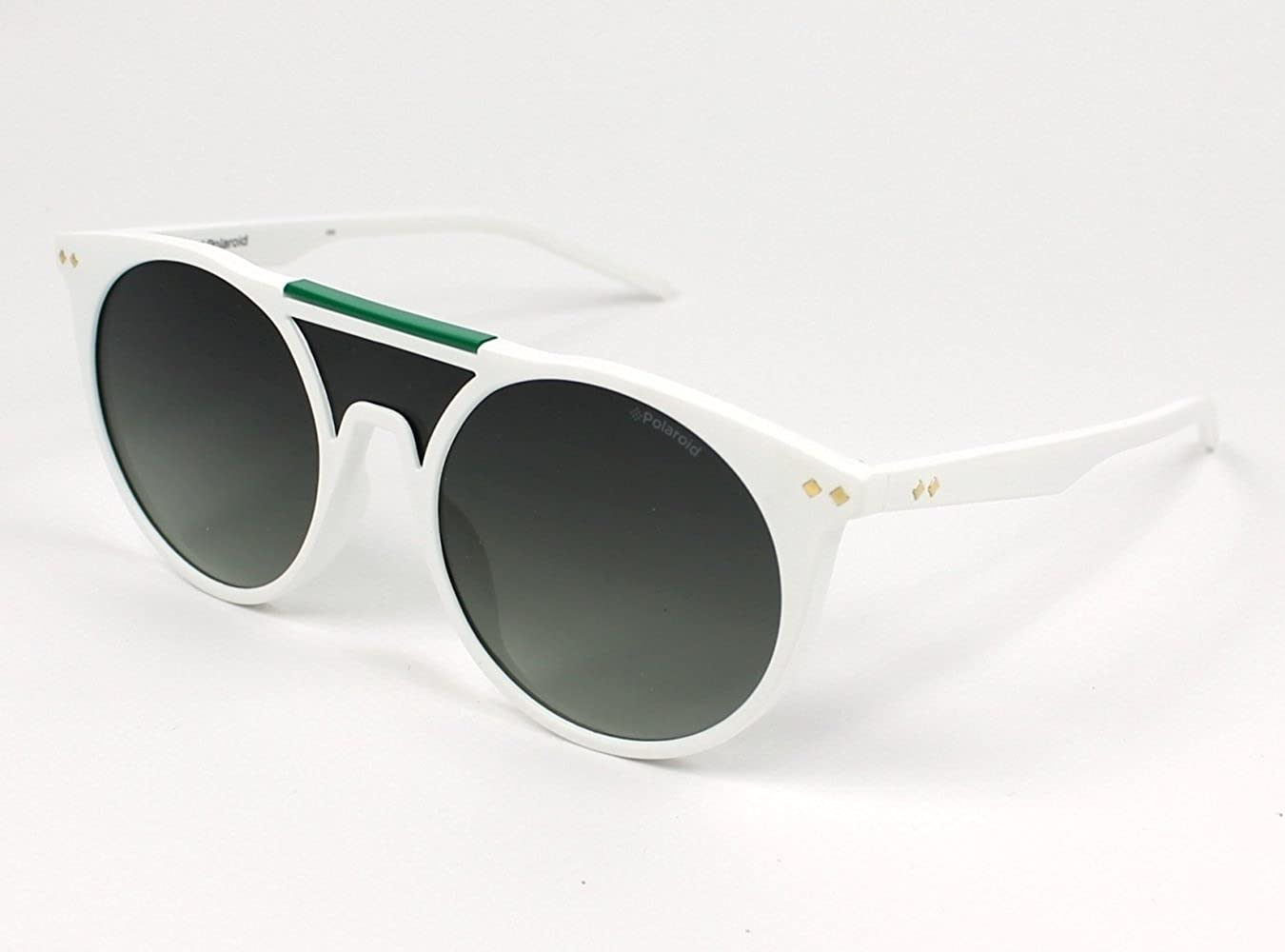 Polaroid Pld 6025/S Lb Vk6, Montures de Lunettes Mixte Adulte, Blanc (White/Green), 99