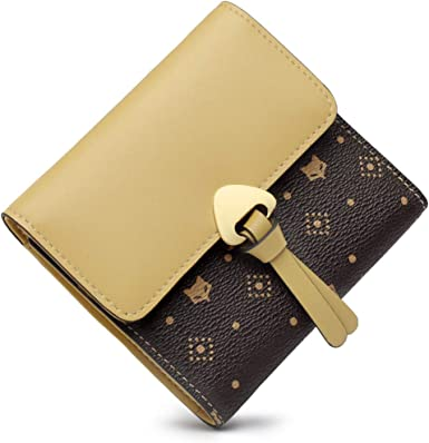 WOMEN/'S NEW GIFT SOFT STYLISH LEATHER PURSE//WALLET WITH CARD SLOTS ID WINDOW