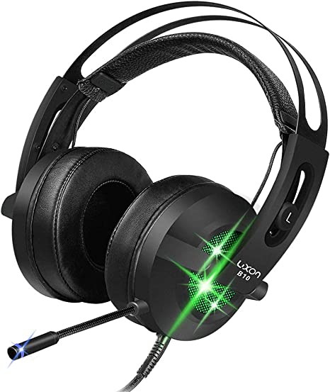 Gaming Headset 7.1 Channel Virtual Surround Sound Noise Isolation Stereo Over...