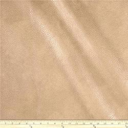 Discount Fabric Richloom Tough Faux Leather Pleather Vinyl Tiona Sandstone PP10