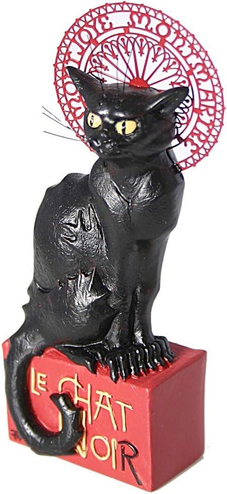 Le chat Noir Théophile-Alexandre Steinlen Figurine